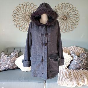 Old Navy women's dark grey coat size M